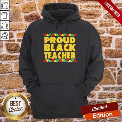 Official Proud Black Teacher Hoodie