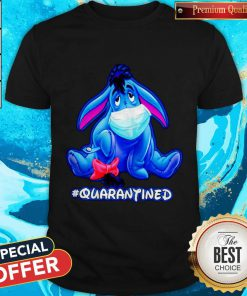Original Quarantined Eeyore Face Mask Shirt