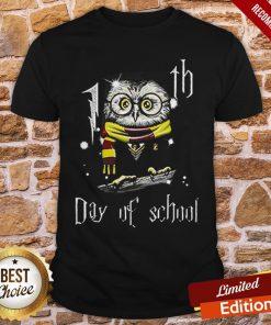 Owl Teacher 100th Day Of School Harry Potter Shirt