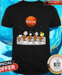 Peanuts Heads Back To Space Nasa Shirt