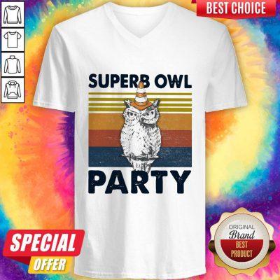 Pretty Superb Owl Party Vintage Shirt