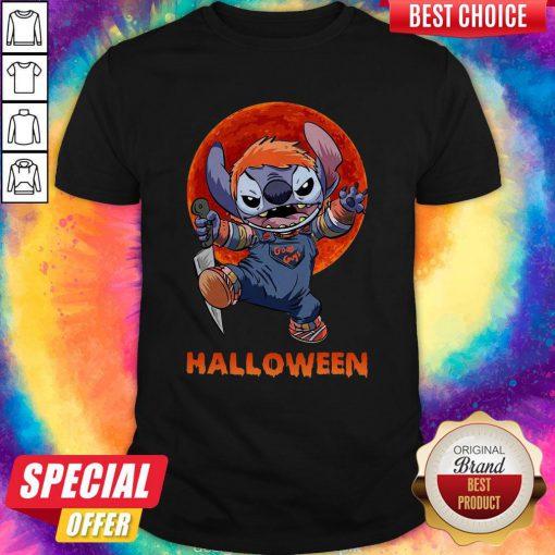 Stitch Good Guys Halloween Shirt