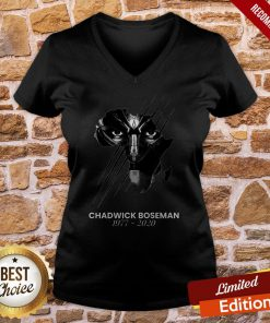 The Superhero Black Panther In The Marvel Cinematic Universe Rip V-neck