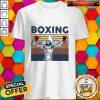 Top Boxing Jesus Vintage Retro Shirt