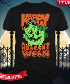 Funny Halloween Pumpkin Saying 2020 Spooky Quarantine Shirt