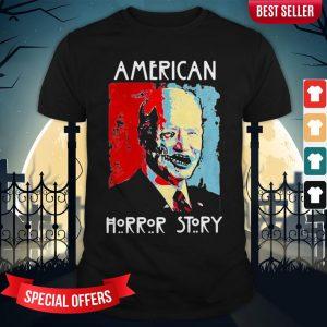 Halloween Joe Biden American Horror Story Art Shirt
