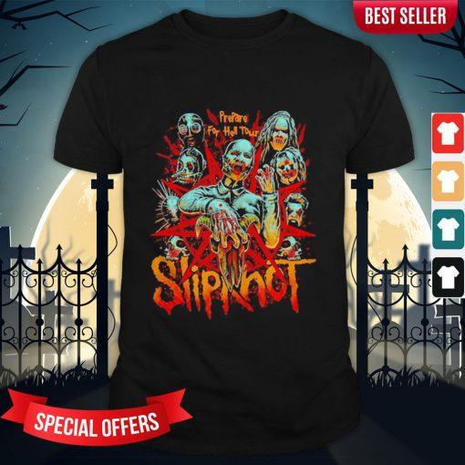 Halloween Slipknot Band Horror Prepare For Hell Tour Shirt