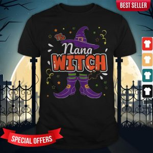 Halloween The Nana Witch Family Matching Funny Group Women Shirt