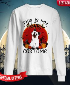 Halloween Yorkie This Is My Scary Costome Sweatshirt