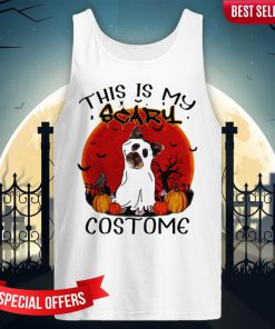Halloween Yorkie This Is My Scary Costome Tank-Top