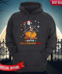 Jack Skellington Happy Hallothanksmas Hoodie