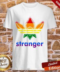 LGBT Adidas Stranger Things Shirt
