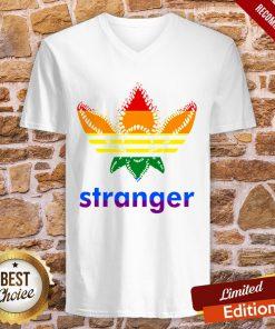LGBT Adidas Stranger Things V-neck