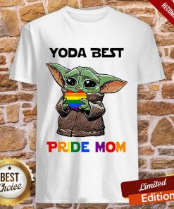 LGBT Baby Yoda Yoda Best Pride Mom Shirt