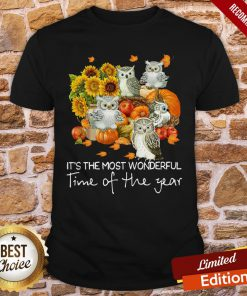 Owl It's The Most Wonderful Time Of The Year Shirt