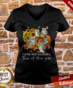 Owl It's The Most Wonderful Time Of The Year V-neck