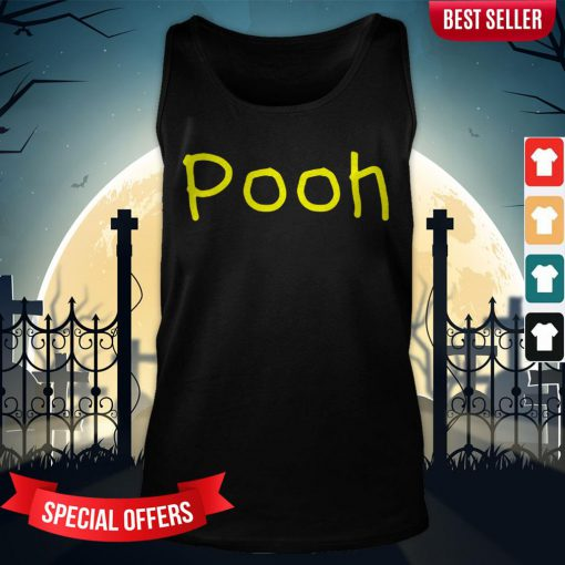 Pooh Nickname First Name Gift Halloween Costume Tank-Top
