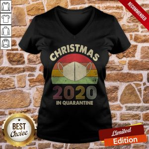 Premium Christmas Quarantine 2020 V-neck