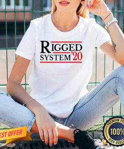 Rigged System 20 2020 US Dirty Election Fun Gift V-neck
