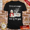 Sheep Dog It's The Most Wonderful Time Of The Year Christmas Shirt