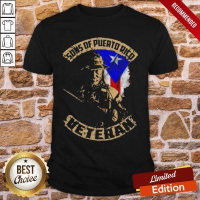 Sons Of Puerto Ricd Veteran Shirt