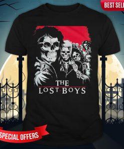 The Lost Boys Skull Shirt