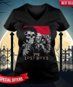 The Lost Boys Skull V-neck