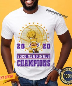 2020 Los Angeles Lakers Nba Finals Champions Shirt- Design By Proposetees.com