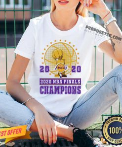 2020 Los Angeles Lakers Nba Finals Champions V-neck- Design By Proposetees.com
