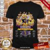 2020 Nba Champions Los Angeles Lakers Signatures Shirt - Design By Proposetees.com
