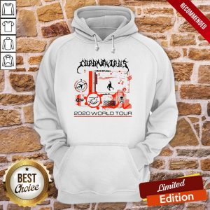 Awesome Coronavirus Covid 19 Virus 2020 World Tour Hoodie- Design By Proposetees.com