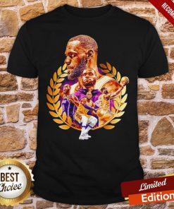 Awesome Lebron James Artwork Shirt- Design By Proposetees.com