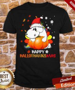 Awesome Senior Pumpkin Happy Hallo Thanks Mas Shirt - Design By Proposetees.com