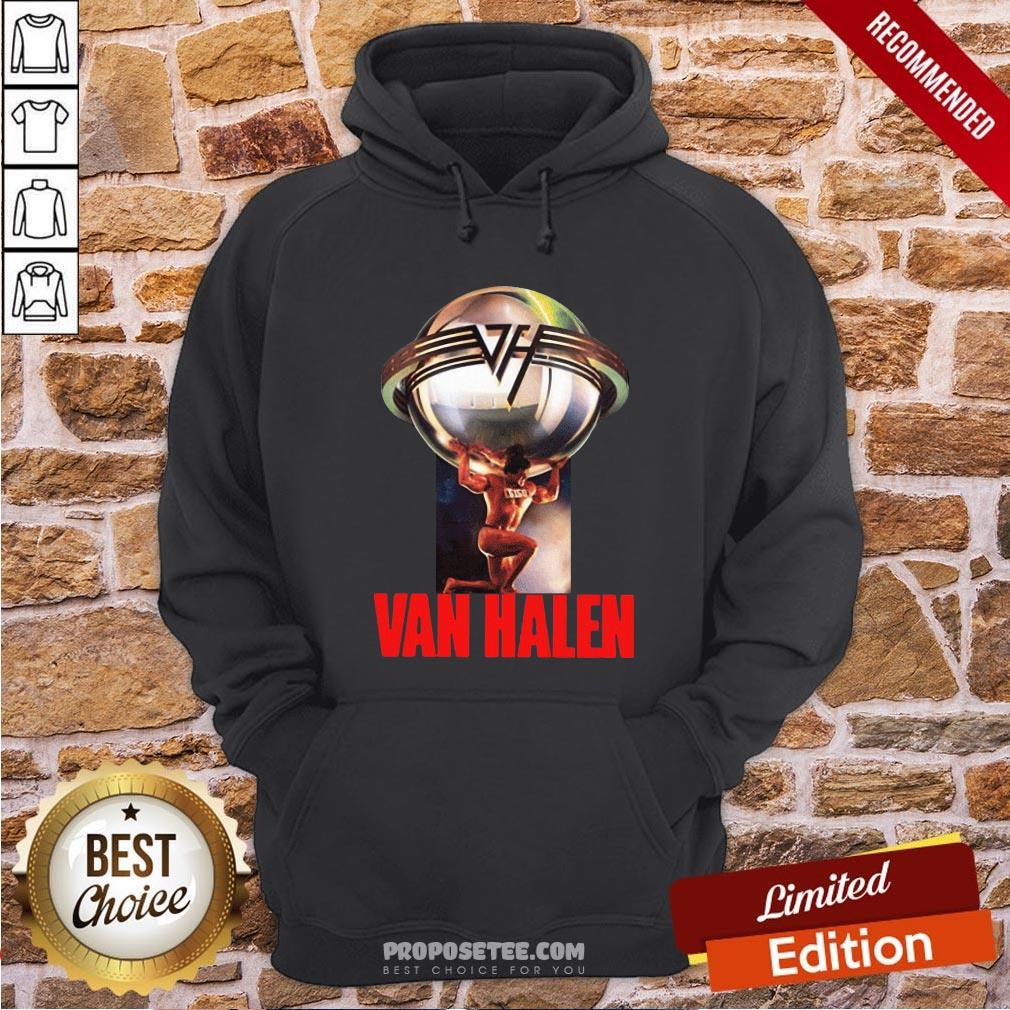 Eddie Van Halen 5150 Last Fm Hoodie- Design By Proposetees.com