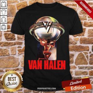 Eddie Van Halen 5150 Last Fm Shirt- Design By Proposetees.com