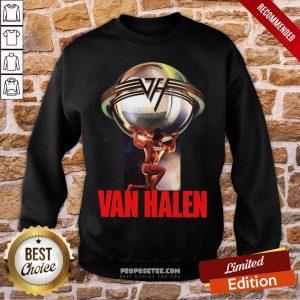 Eddie Van Halen 5150 Last Fm Sweatshirt- Design By Proposetees.com