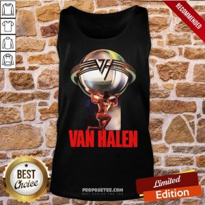 Eddie Van Halen 5150 Last Fm Tank-Top- Design By Proposetees.com