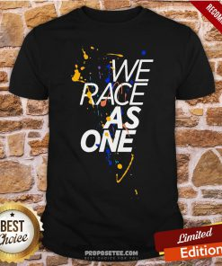 Funny McLaren We Race As One Mind Shirt- Design By Proposetees.com