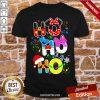 Ho Ho Ho Cute Disney Christmas Shirt- Design By Proposetees.com