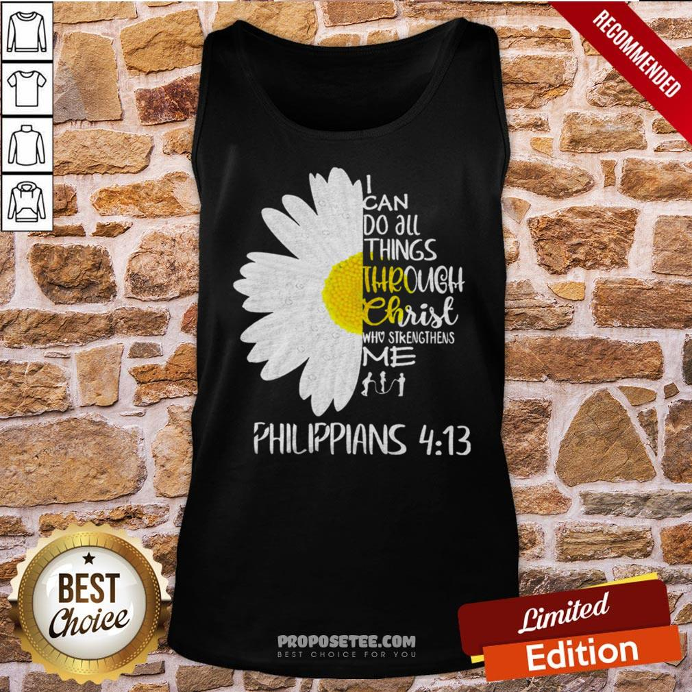 I Can Do All Things Through Christ Who Strengthens Me Tank-Top- Design By Proposetees.com