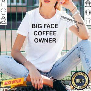 Jimmy Butler Big Face Coffee Owner V-neck- Design By Proposetees.com