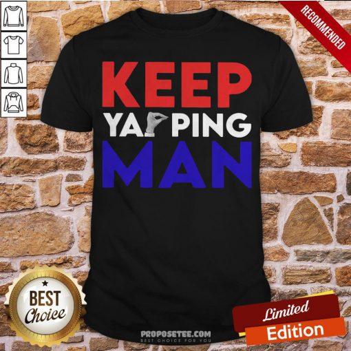 Keep Your Ping Man Shirt- Design By Proposetees.com