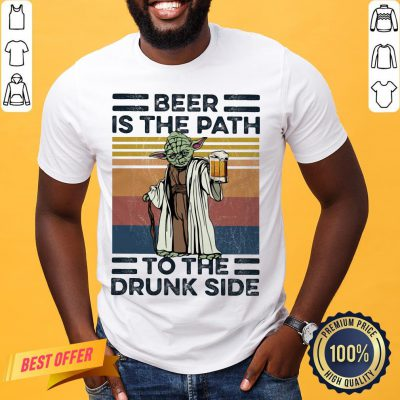 Master Yoda Beer Is The Path To The Drunk Side Vintage Shirt