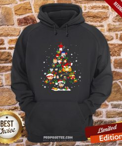 Merry Christmas Harry Potter Chibi Tree Hoodie- Design By Proposetees.com