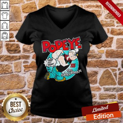 Nice Popeye I Yam What I Yam Since 1929 The Sailor Man V-neck- Design By Proposetees.com
