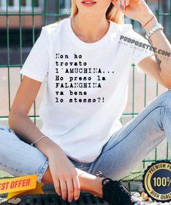 Non Ho Trovato I' Amuchina Ho Preso La Falanghina Va Bene Lo Stesso V-neck - Design By Proposetees.com