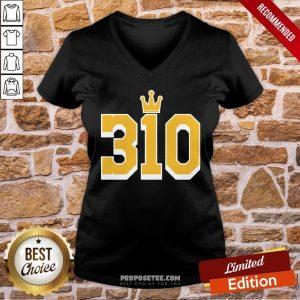 Official 310 Tee V-neck- Design By Proposetees.com