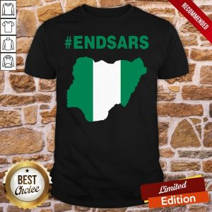 Official Endsars Shirt- Design By Proposetees.com