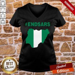Official Endsars V-neck- Design By Proposetees.com