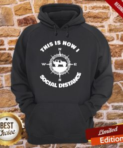Official Social Distance Jeeping Off Road Hoodie- Design By Proposetees.com